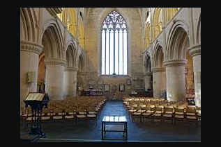 Malmesbury Abbey - Position of Volunteer from 2nd December 2020
